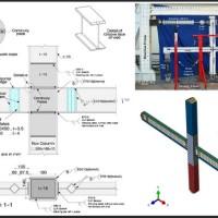 مدلسازی اتصال آکاردئونی (کاهش جان تیر) در آباکوس
