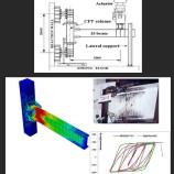 مدلسازی اتصال تیر فولادی H شکل به ستون CFT با آباکوس