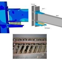 مدلسازی دمپرهای شیاردار (Slit Damper)