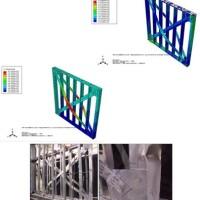 صحت سنجی قاب سبک فولادی (LSF) در آباکوس