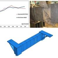 مدلسازی تیر بتنی با استفاده از ورق FRP تحت بار پیچشی
